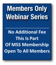 Webinar Members Only Button